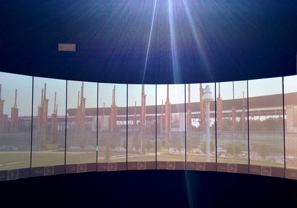 allestimento interattivo immersivo aurorameccanica urban13